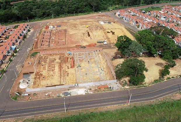 Obras de escola e creche do Residencial Ypê Amarelo estão em andamento