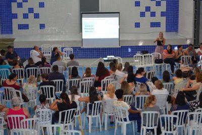 Professores participam de formação para início do ano letivo 2019