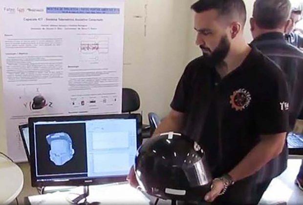 Alunos da Fatec Mogi Mirim criamcapacete com tecnologia inovadora