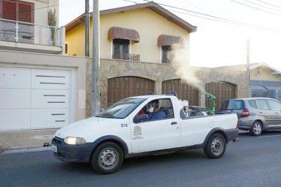 Mau tempo adia nebulização veicular na periferia