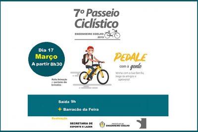 7º Passeio Ciclístico agita Engenheiro Coelho neste final de semana