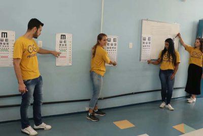 Prefeitura, Sky e ONG distribuem óculos para estudantes da rede pública de Jaguariúna
