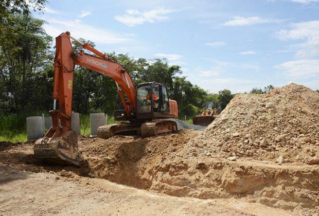 Reconstrução da Nico Lanzi entra na fase de obras de drenagem
