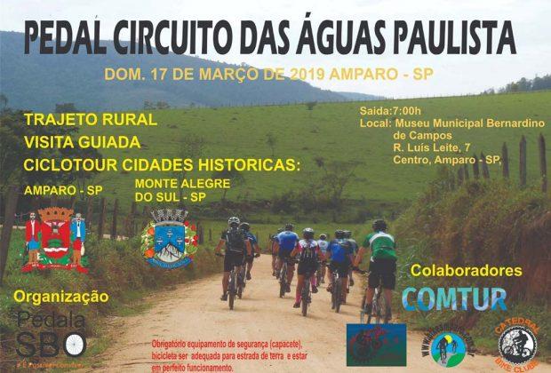 Pedal do Circuito das Águas Paulista acontece no domingo