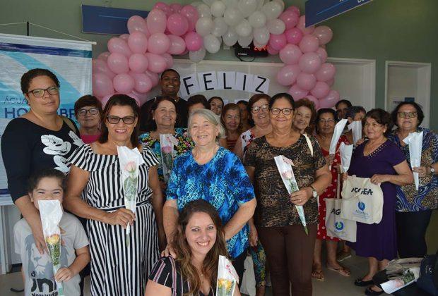 Águas de Holambra homenageia asmulheres no PSF Santa Margarida