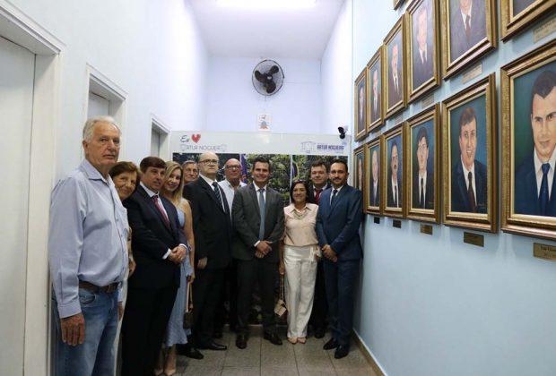 Prefeito Ivan Vicensotti inaugura Memorial dos Prefeitos em Artur Nogueira