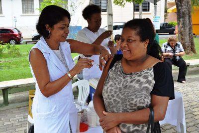 """Secretaria de Saúde realiza até o dia 31 de maio, a """"Campanha de Vacinação contra a Gripe Influenza"""""""