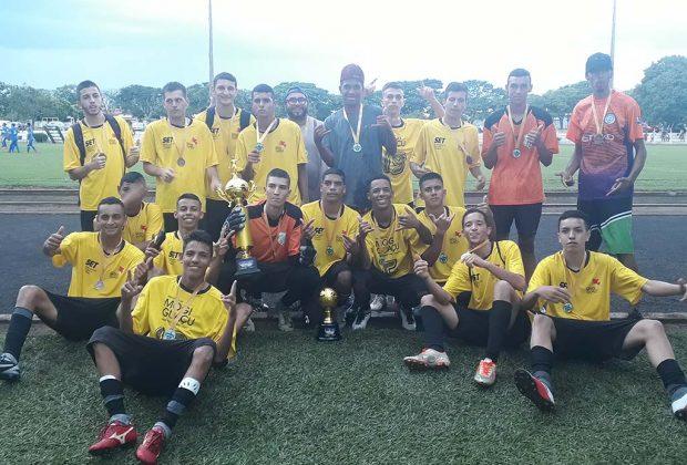 Definidos os primeiros campeões do Campeonato de Futebol de Base