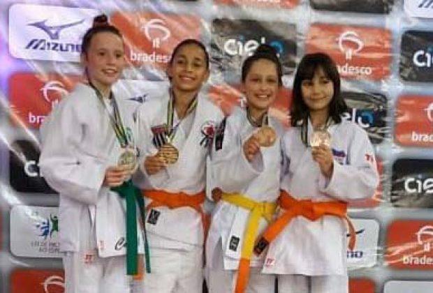 Atleta guaçuana conquista o título brasileiro de judô