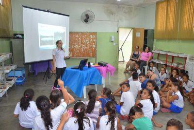 SAAE ensina o combate ao desperdício nas escolas