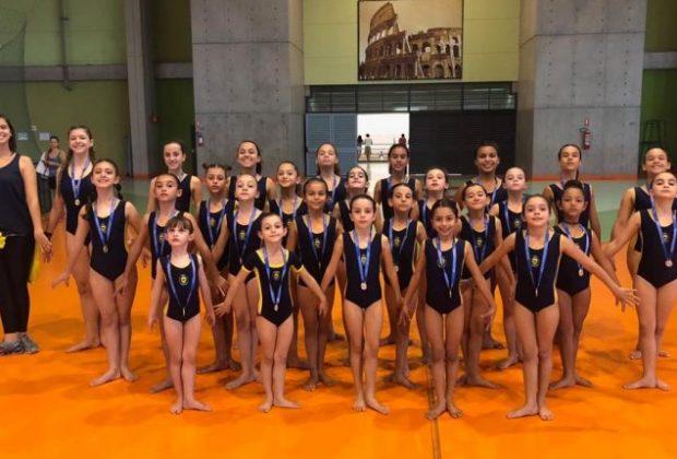 Com objetivo de competir da melhor maneira possível, equipe de ginástica artística de Jaguariúna participa de Copa Campinas