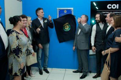 Inauguração do COI marca a conclusão do tripé da sociedade, para o prefeito Gustavo Reis