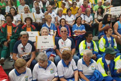Itapira marca presença na 23ª edição dos Jogos Regionais do Idoso