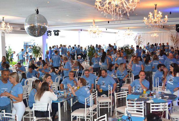 Famílias inteiras prestigiam o 6º Feijão com Samba