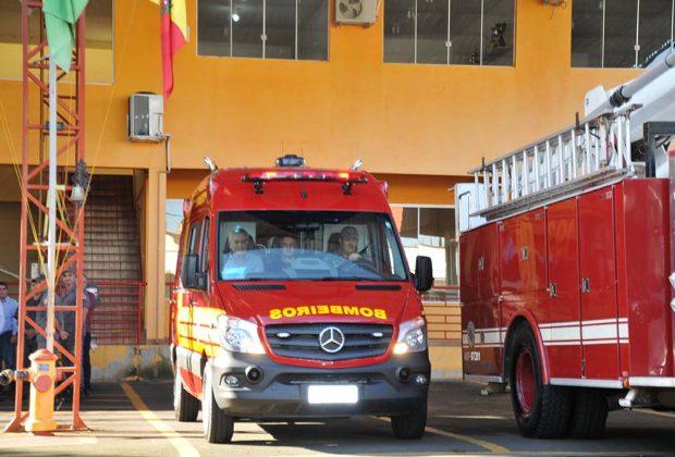 Unidade de resgate é entregue ao Corpo de Bombeiros de Mogi Guaçu