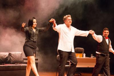 """Pedreira recebe neste domingo,23 de junho, a comédia romântica """"Quase Cinquenta Tons de Cinza"""""""