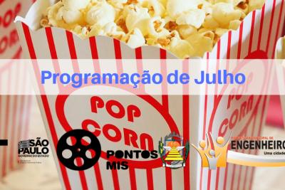 SECTUR divulga programação de filmes para julho