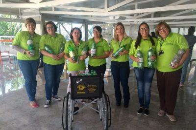 Entidades recebem mais 30 cadeiras de rodas