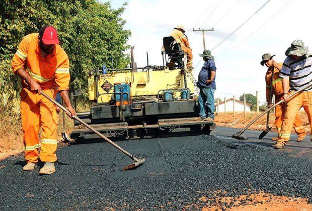 Prefeitura conclui primeira etapa de pavimentação da HBR 165