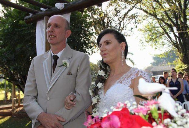 Festa de casamento em Holambra