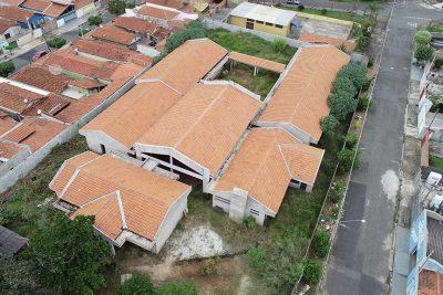Nova empresa retoma construção da creche do Guaçu Mirim III