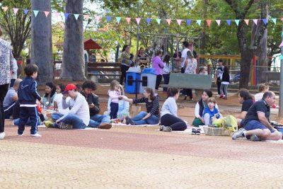 Projeto Balangandã encerra semestrecom piquenique e atividades no Parque