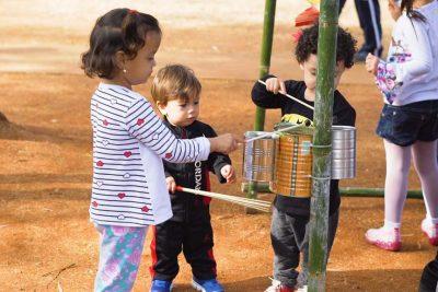 Projeto Balangandã promove piquenique com atividades no Parque