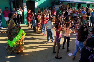 Alunos, familiares e comunidade prestigiaram a Festa Junina do SAMUCA