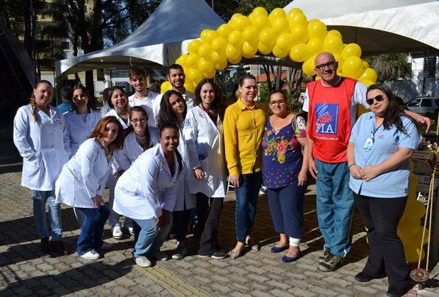 """Pedreirenses participaram do """"Saúde em Ação"""" na Praça Ângelo Ferrari"""