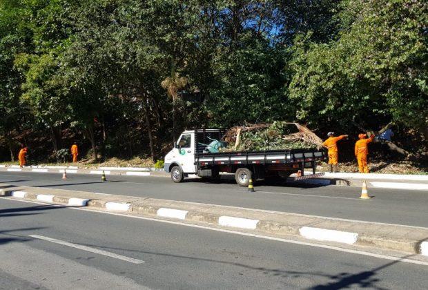 Secretaria de Turismo realiza manutenção na Avenida Antônio Serafim Pentean