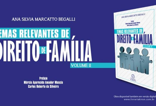 Transformações no conceito de família são abordadas em livro de Direito