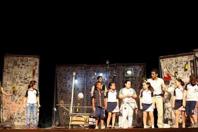 Teatro sensibiliza estudantessobre preservação da água