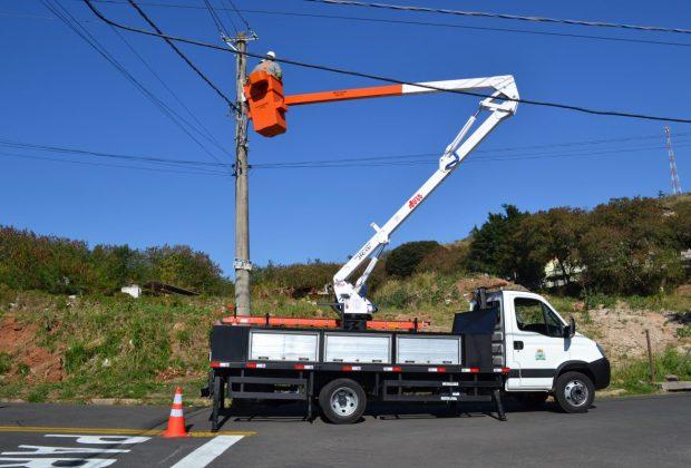 Novo Caminhão Iluminação Pública está em operação