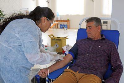 Campanha reúne mais de 50 candidatos a doadores de sangue em Holambra