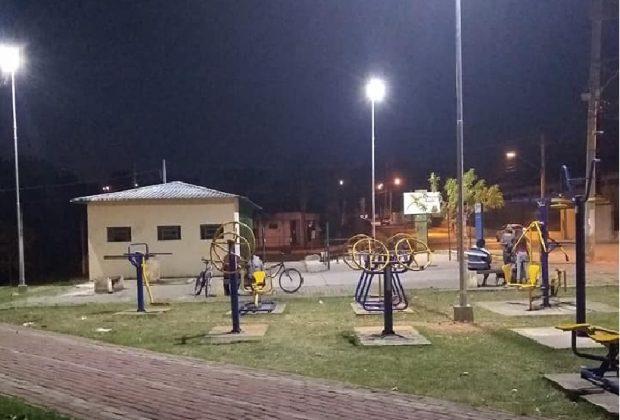 Prefeitura de Pedreira instala iluminação de LED em Praças e garante mais segurança à população