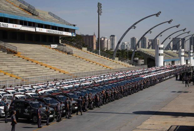 Governo de SP entrega 1.674 viaturas à Polícia Militar