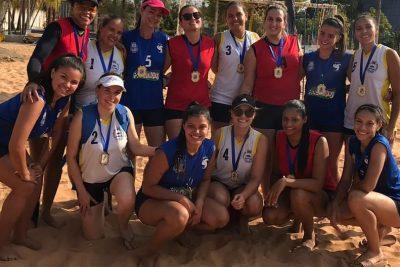 """Equipe de Pedreira vence a Copa Jaguariúna de Vôlei """"4×4"""""""