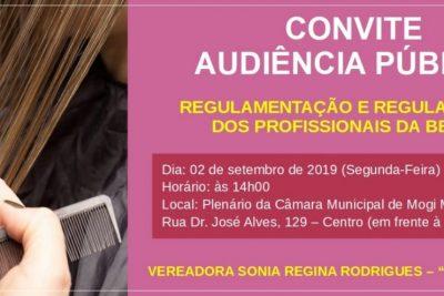 Audiência Pública em prol dos Profissionais da Beleza acontece na segunda-feira (2)