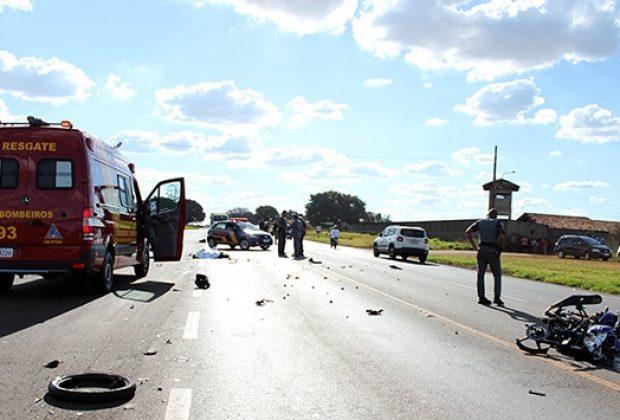 Grave acidente causa a morte de motociclista na Rodovia SP 107 em Artur Nogueira