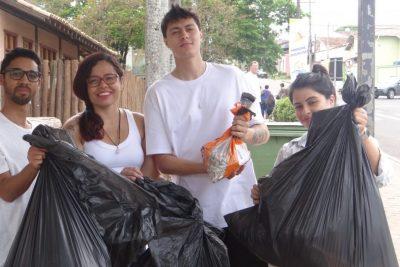 Jaguariúna participa do Dia Mundial da Limpeza