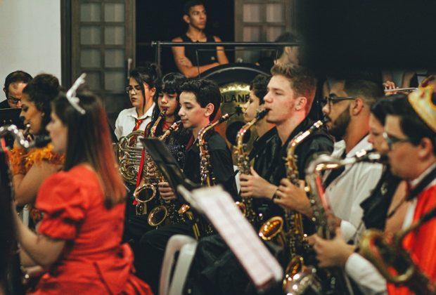 Quinta edição do 'Encontros' novamente teve como destaque o concerto da Banda Sinfônica Lira Itapirense