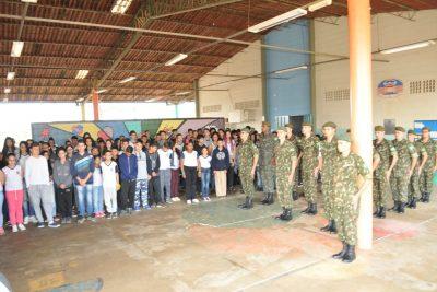 Ato cívico abre as comemorações da Semana da Pátria em Mogi Guaçu