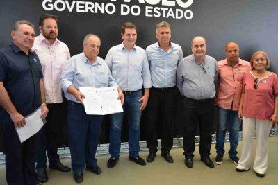 Governador em exercício, Cauê Macris anuncia verba de 800 mil para o município de Santo Antônio de Posse
