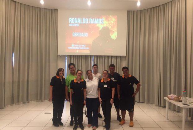 O Centro do Idoso Vida Mais recebeu um treinamento capacitação de primeiros socorros em Itapira