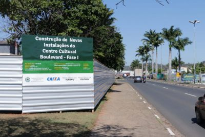 Jaguariúna inicia construção de um moderno Boulevard no entorno do Centro Cultural