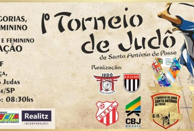 Associação Pedreirense de Judô estará disputando o 1º Torneio de Santo Antonio de Posse