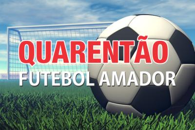 3ª rodada do campeonato de Futebol Quarentão aconteceu neste domingo, dia 20