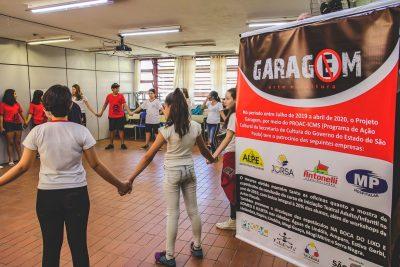 Projeto Garagem e Cia Talagadá promovem atividades com apoio do ProAC