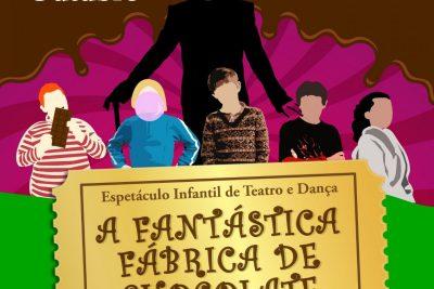 """Espaço Lis Coradi apresenta """"A fantástica Fábrica de Chocolate"""" no Teatro Municipal de Jaguariúna"""