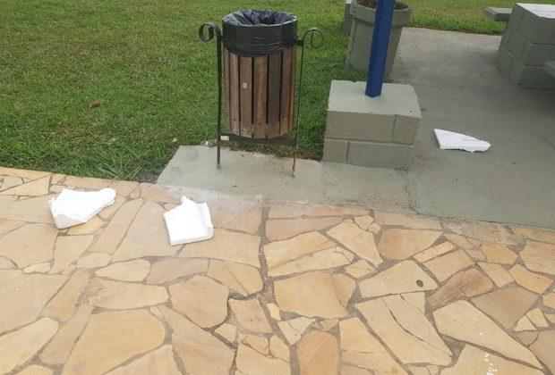 Piscina pública sofre invasão e vandalismo